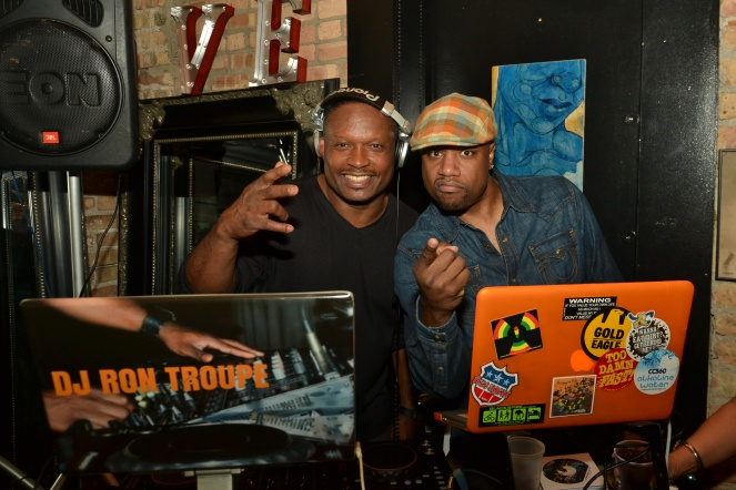 DJs Ron Troupe & Jay Imani