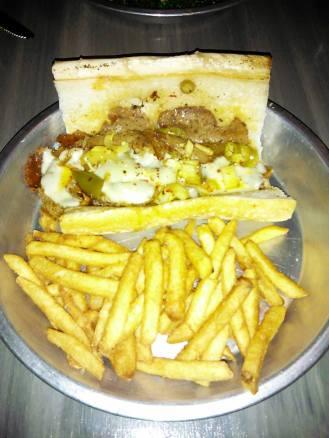 Italian Protein Sandwich