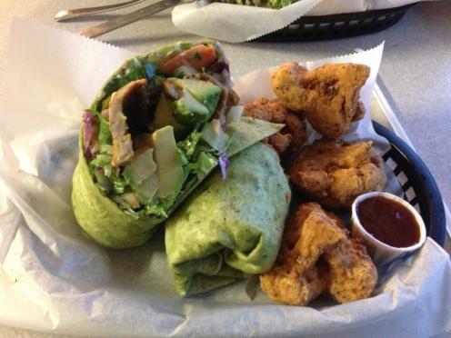 Smoke Protein & Avocado Wrap