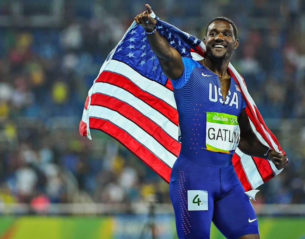 Justin-Gatlin-wins-silver-100-meter-dash-rio-olympics