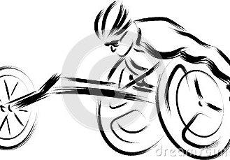 wheelchair-racer-black-white-vector-sketchy-style-paraplegic-athlete-racing-53110028